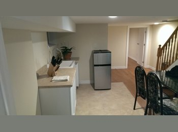 1 br basement partment for rent in Riverdale neigb