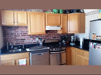 Room for rent in updated 2 br unit, H&HW included