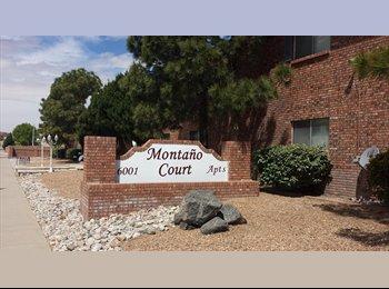 EasyRoommate US - Nice Westside One (1) Bedrm, 6001 Montano Rd. NW - Northwest Quadrant, Albuquerque - $600