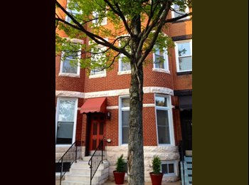 EasyRoommate US - Share A Luxury Furnished 2 Bedroom Duplex Apt - Western, Baltimore - $925