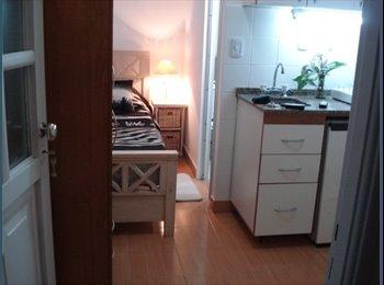 Habitacion 1 pers. amoblada baño y cocina privada