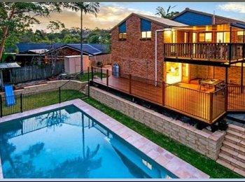 EasyRoommate AU - Huge Studio on lower level of house - Carina, Brisbane - $330