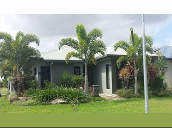 EasyRoommate AU - NEW HOME IN TRINITY PARK (MASTER BEDROOM) - Trinity Park, Cairns - $140