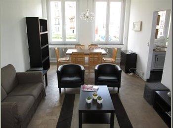 Appartager BE - Beautiful furnished flat, 10 min walk from EU - le Quartier Européen (Léopold, Schuman), Bruxelles-Brussel - €575