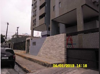 EasyQuarto BR - Divido apartamento no Espinheiro!! MOBILIADO - Recife, Recife - R$1600
