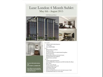 EasyRoommate CA - Luxe London Summer Sublet - London, South West Ontario - $695