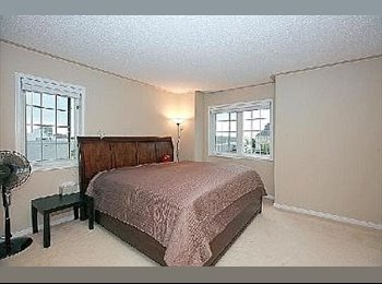 EasyRoommate CA - Townhouse ONE Bright Room with Bathroom available - North Toronto, Toronto - $800