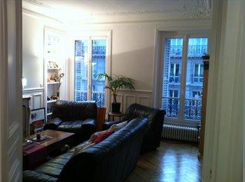 Chambre meublée dans grand appartement plein centre Paris