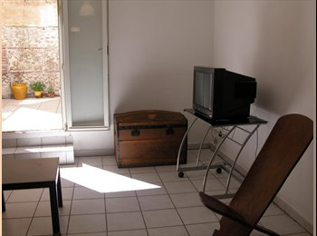 chambre dans f3 meublé avec terrasse et parking