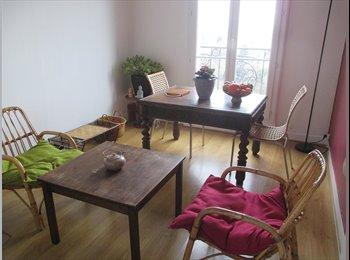 Appartager FR - Colocation sympa 1 à 4 mois - Montreuil, Paris - Ile De France - €500