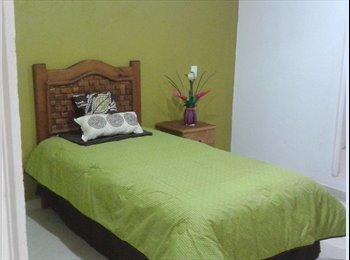 CompartoDepa MX - Cuartos amueblados con servicios incluidos - Toluca, México - MX$2200