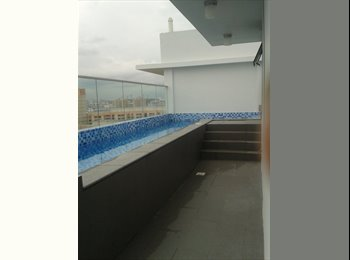 2 bedrooms Duplex Penthouse Suite w private pool
