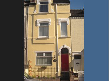 EasyRoommate UK - LARGE DOUBLE BEDROOM AVAILABLE (£86/£84per week) - Burslem, Stoke-on-Trent - £373