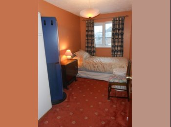 Single room available with own bathroom.