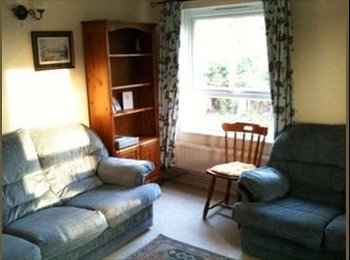 a clean, nice double room in a quiet cosy flat