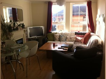 Bright modern 2 bedroom flat available in Leith