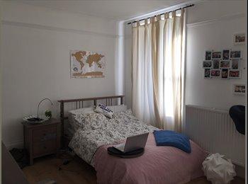 Very big room in lovely Camden garden flat