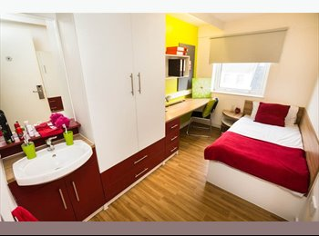 Holloway student accommodation, private bed room
