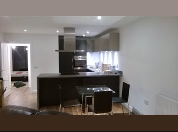 EasyRoommate UK - Superb double room with view in a very modern flat - Canary Wharf, London - £210
