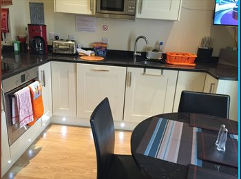 EasyRoommate UK - NEW HOUSE-Reduced rates this month- 3 doubles - Stoke-on-Trent, Stoke-on-Trent - £424