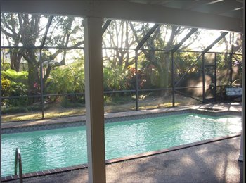 EasyRoommate US - ~~~~Private Bedroom&Bath in Gorgeous Pool home~~~~ - Kendall, Miami - $1000
