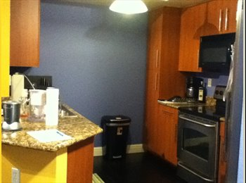Room with private bathroom in a 2 Bedroom condo