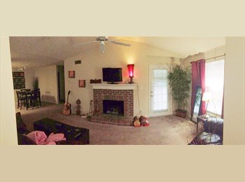 Bedroom in 2 bed/2 br apartment minutes from KSU for rent