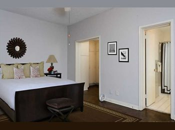 Master Bedroom/Bath in Buckhead Condo