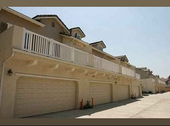 EasyRoommate US - Two bedrooms available in a 3 story townhome - West Anaheim, Anaheim - $800