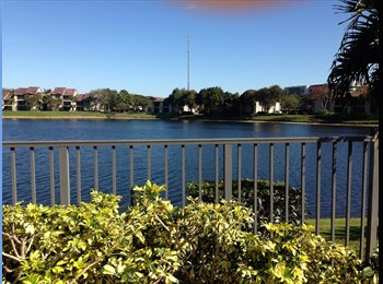 EasyRoommate US - Delray beach, Fl off Linton and Congress. - Delray Beach, Ft Lauderdale Area - $1600
