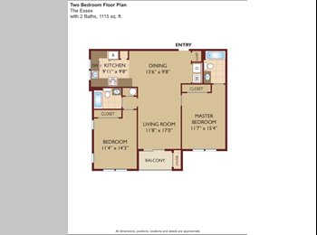 EasyRoommate US - $1250 (Available Now -- April 30) Large Private Ro - Fair Lawn, North Jersey - $1250