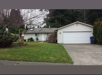 EasyRoommate US - room for rent in 3bed 2bath house. West Olympia - Olympia, Olympia - $575