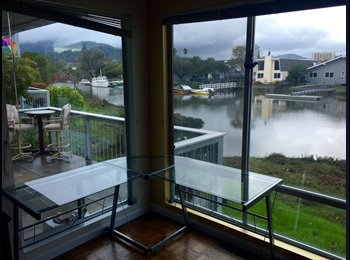 Marin, Corte Madera, by the Water