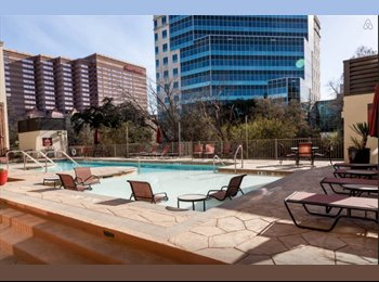 EasyRoommate US - Downtown, Roomate for 2 BR 2.5B, Furnished Living - Downtown, Austin - $1108