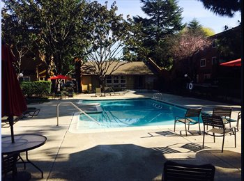 Room for Rent in Nice Townhouse in Central Fremont