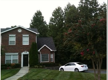 EasyRoommate US - Gated Townhome, Fully Furnished Turnkey with Pool - Charlotte, Charlotte Area - $1975