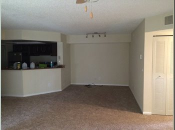 2br/1 bath in a 3br apartment available for rent from April...