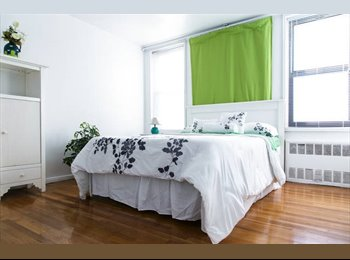 EasyRoommate US - Fresh clean room to rent for weekly short-term. - Kensington, New York City - $850