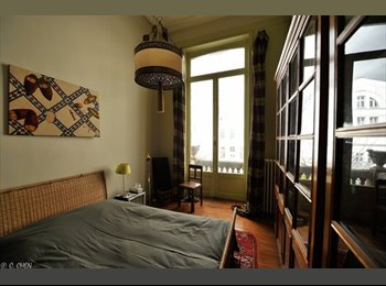 Appartager BE - Gorgeous Room with Shared bathroom - Bruxelles-Brussel, Bruxelles-Brussel - €650