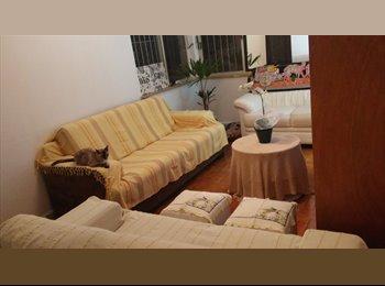 EasyQuarto BR - Divido lindo ap. Barra Funda, 2 qtos, net, faxina, - Santa Cecilia, São Paulo capital - R$850