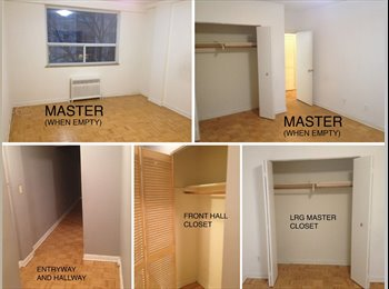 EasyRoommate CA - Master Bedroom in a 2 Bedroom with great roommate! - Downtown Yonge, Toronto - $825
