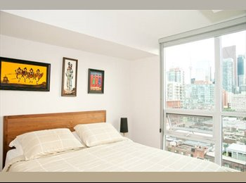 EasyRoommate CA - Downtown Room for rent - Downtown Yonge, Toronto - $1100