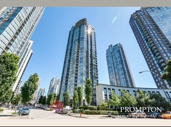 EasyRoommate CA - Roommate wanted for 2 Bed 2 bath May 1st Yaletown - Downtown, Vancouver - $1500