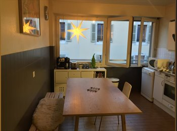 EasyWG CH - Chambre meublée à louer dans appartment de 85m2 - Centre - Plainpalais - Acacias, Genève / Genf - CHF1300