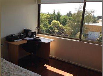 Habitación amplia, moderna preciosa vista a la cordillera
