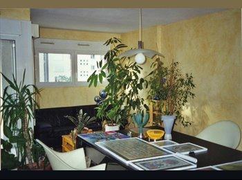 Appartager FR - Location chambre meublée dans appartement 90m2 19E - 19ème Arrondissement, Paris - Ile De France - €700