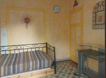 Chambre / bureau / terrasse et sanitaires privés