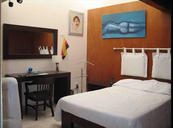 CompartoDepa MX - Habitacion amueblada en Centro, Dorada y Mirador - Centro Histórico, Puebla - MX$4000