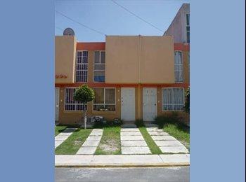 CompartoDepa MX - Rento cuarto  y/o  casa amueblada en los Heroes - Otras, Puebla - MX$1350