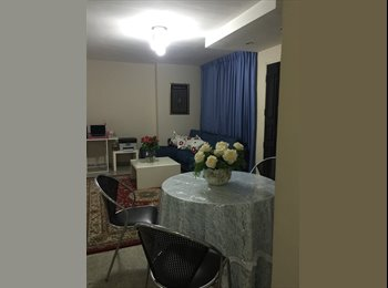 NO AGENT FEE, NO OWNER, Master &common rm in condo